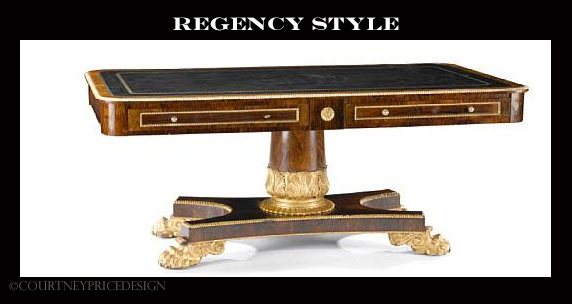 Regency Desk on www.CourtneyPrice.com