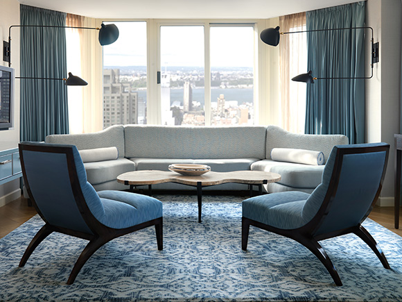 The London Hotel NYC, on www.CourtneyPrice.com