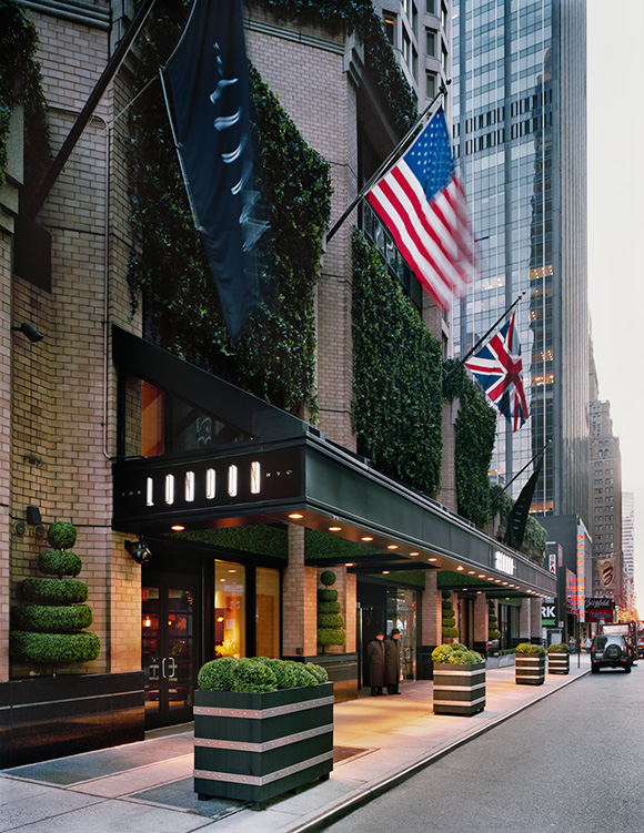 Best Mid Town NYC hotel- The London Hotel NYC, on www.CourtneyPrice.com
