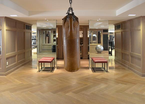 Best NYC Hotel Gym: The London Hotel NYC, on www.CourtneyPrice.com