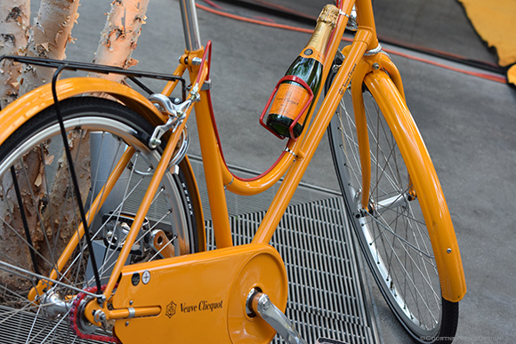 Veuve Bike, Veuve Clicquot, Dallas on www.CourtneyPrice.com
