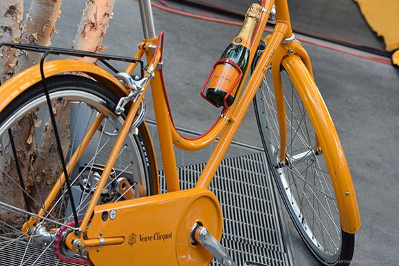 Veuve Bike, Veuve Clicquot, Dallas on www.CourtneyPrice.com