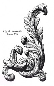 Crossette, decorative arts glossary,French Furniture, www.CourtneyPrice.com