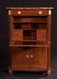 Secretaire, decorative arts glossary,French Furniture, www.CourtneyPrice.com