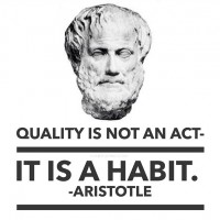 A Word on Quality- from Aristotle