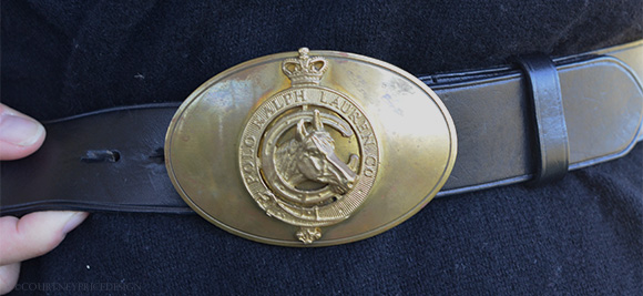 Ralph Lauren Belt Buckle on www.CourtneyPrice.com