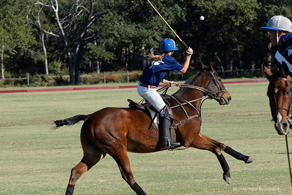 Roxy, female Polo player, on www.CourtneyPrice.com