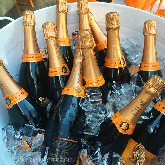 Veuve On Ice, on www.CourtneyPrice.com