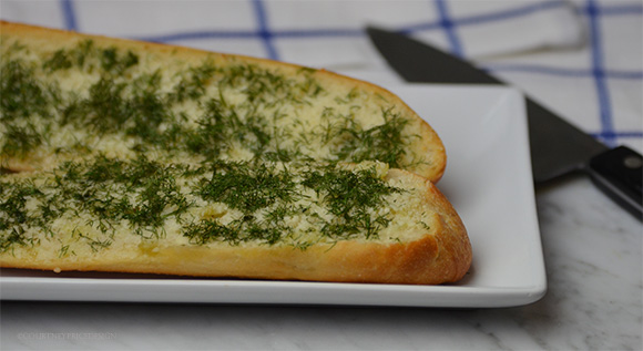 Garlic Bread, Commanders Palace recipe on www.CourtneyPrice.com