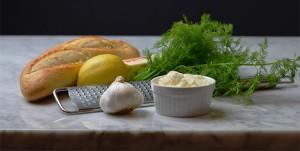 Garlic Bread Ingredients - recipe on www.CourtneyPrice.com