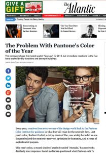 Color of the Year outrage on www.CourtneyPrice.com ;)