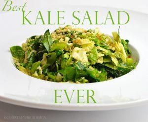Best Kale Salad Ever on www.CourtneyPrice.com
