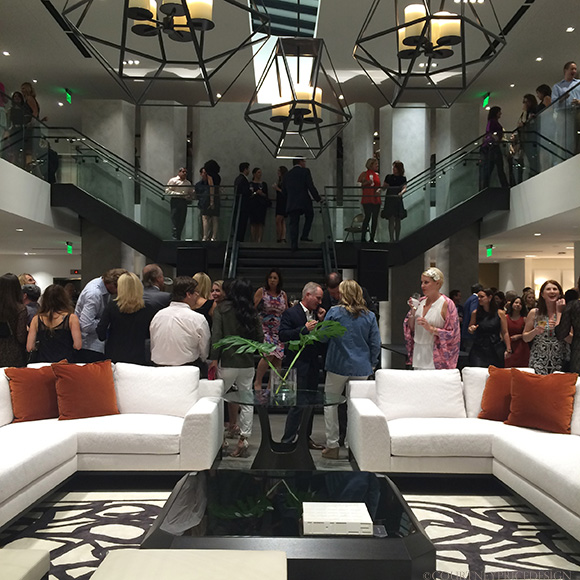 Holly Hunt Dallas Showroom Opening on www.CourtneyPrice.com