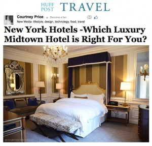Huff Post Travel NY Hotels - www.CourtneyPrice.com