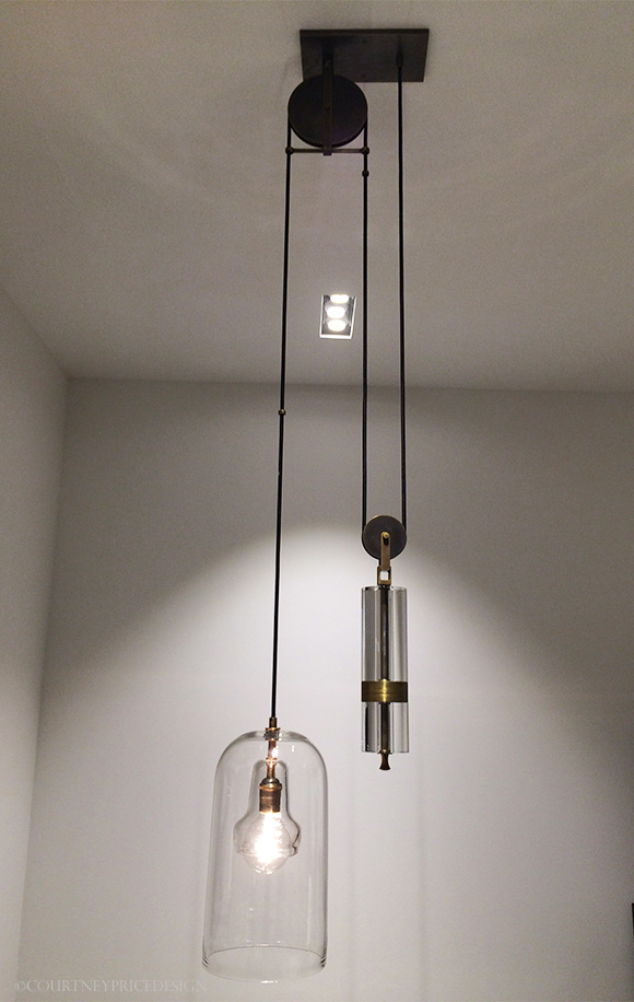 Pulley Pendant,Holly Hunt Dallas Showroom on www.CourtneyPrice.com