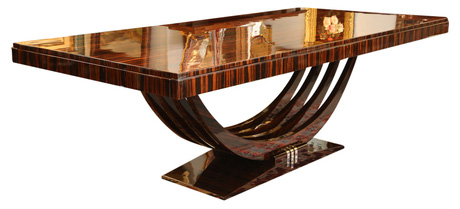 Art deco influences and furniture and a resource for Table de nuit art deco