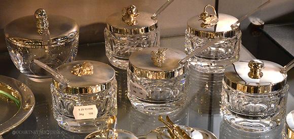 Silver Jam Jars,Dining Trends on www.CourtneyPrice.com