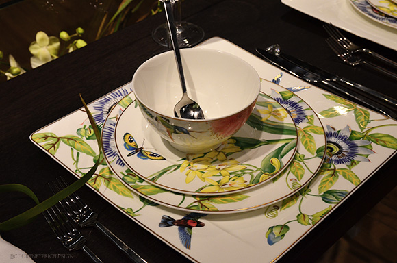 Villeroy And Boch Floral Butterfly, Dining Trends on www.CourtneyPrice.com