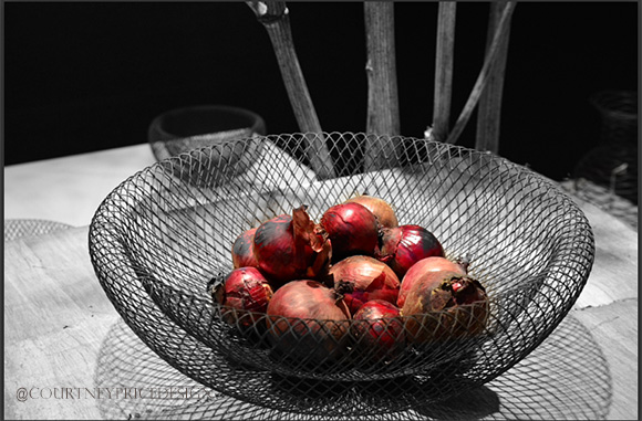 Wire Produce Baskets,Dining Trends on www.CourtneyPrice.com