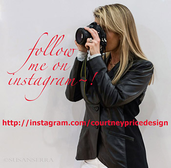 Follow me on instagram- CourtneyPriceDesign