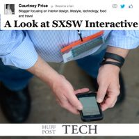 SXSW Coverage on Huff Post Tech