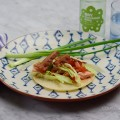 Costco Smoked Salmon Club Tacos- heavenly, quick, easy! on www.CourtneyPrice.com