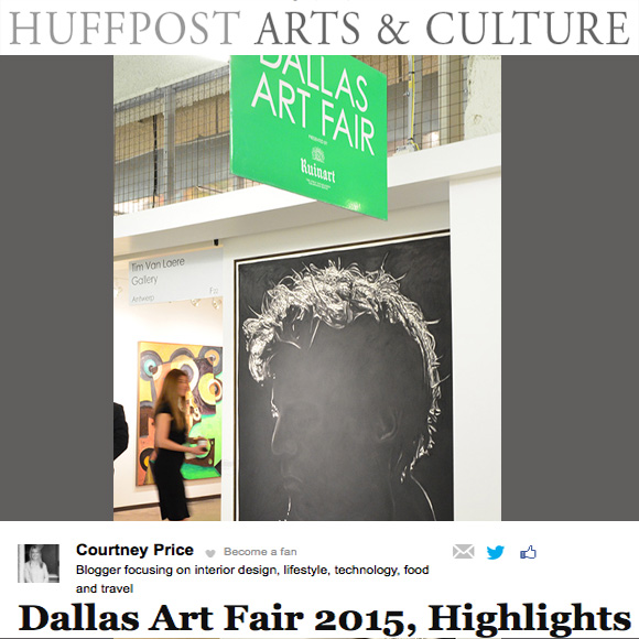 Dallas Art Fair Highlights- Huffington Post