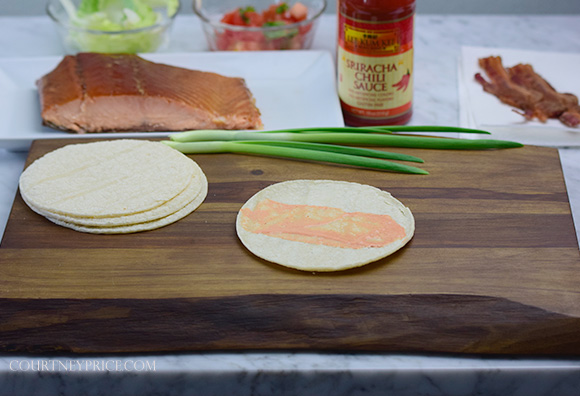 Healthy Salmon Tacos- Best Fish Taco on the planet: on www.CourtneyPrice.com http://wp.me/p2e5e8-4xV