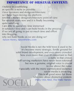 Importance of original content, from Social Media: Paragons of Netiquette on www.CourtneyPrice.com http://wp.me/p2e5e8-4Ai