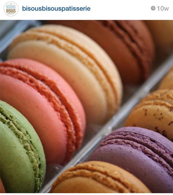 Bisous Bisous macarons, Dallas, on www.CourtneyPrice.com