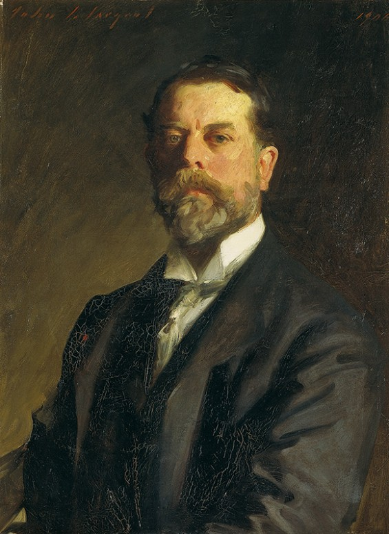 Self-Portrait-Sargent, Sargent: Artists and Friends- at The Met, on www.CourtneyPrice.com
