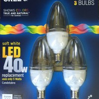 Cree Candelabra LED Bulbs