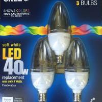 Cree Candelabra LED Bulbs
