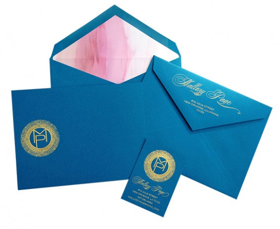 Personalized stationary and the art of the thank you note on www.CourtneyPrice.com