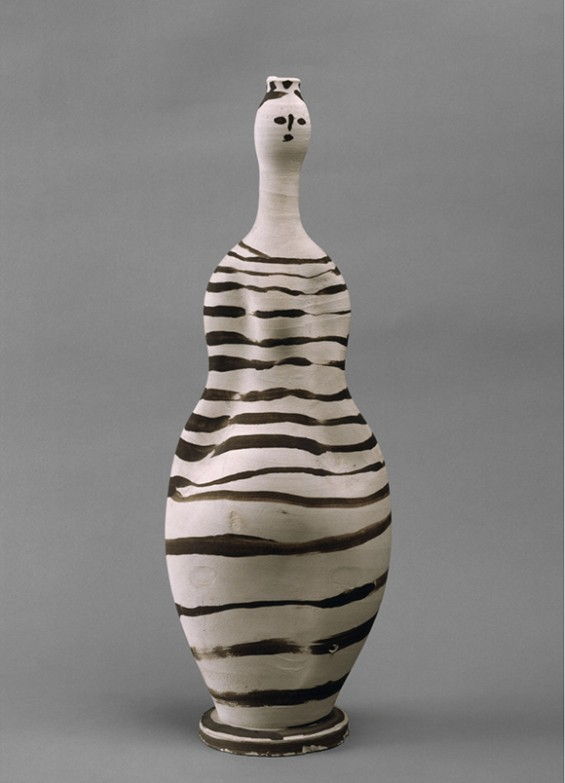 Picasso-Sculpture-MOMA,-Vase--Woman,-1948