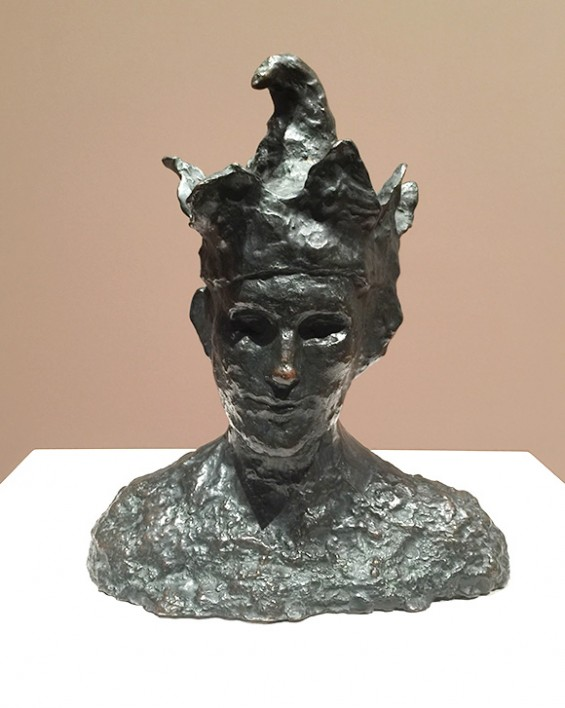 Picasso-Jester-Sculpture