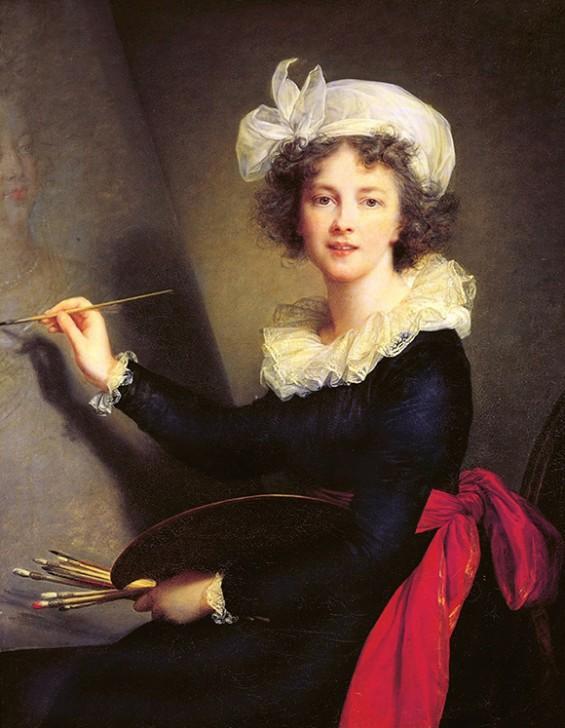 Elisabeth Louise Vigée Le Brun (French, Paris 1755–1842 Paris) Self-portrait 1790 Oil on canvas, 100 x 81 cm. Galleria degli Uffizi, Corridoio Vasariano, Florence (1905) www.CourtneyPrice.com http://wp.me/p2e5e8-4WI