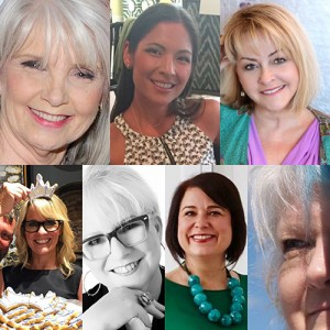 Sharon Davis, Christy Davis, Lisa Mende, Julia Buckingham, Leslie Caruthers, Lisa Ferguson, Saxon Henry, HuffPost Home, Courtney Price