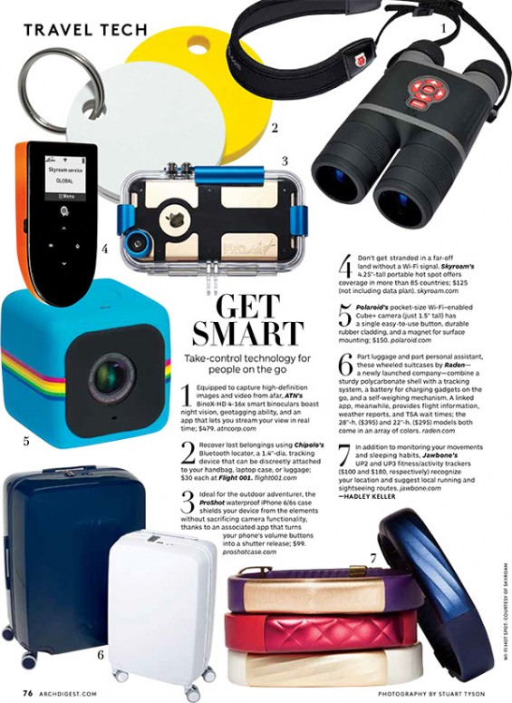 Travel Tech, Architectural Digest, courtneyprice.com, girltech