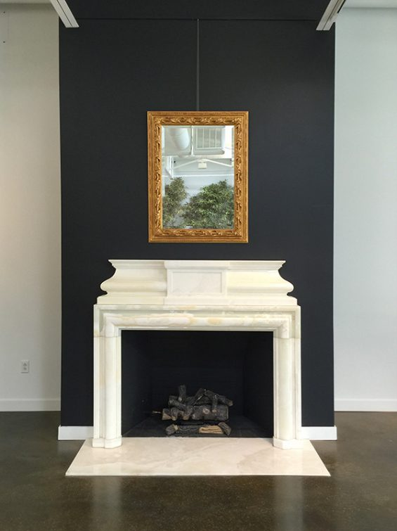 Sherle-Wagner-Mantel, sherle wagner mirror, sherle wagner dallas, sherle wagner showroom, custom mantel