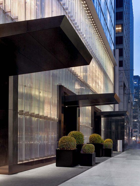 baccarat hotel, hotel, new york hotel, nyc hotel, crystal hotel, famous hotel, crystal wall, baccarat, midtown hotel, luxury hotel