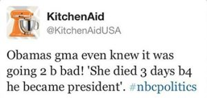 kitchenaid tweet and other social media fails on CourtneyPrice.com