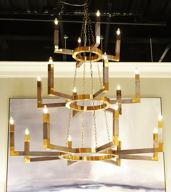 A Game of Thrones style Chandelier, by Mark McDowell for John-Richard
