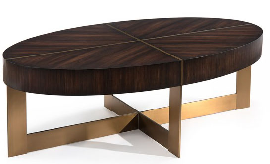 Oxford Cocktail Table, Mark McDowell for John-Richard as seen on www.CourtneyPrice.com