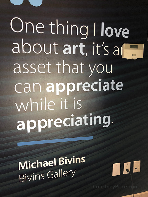 Michael Bivins on art investment , CourtneyPrice.com