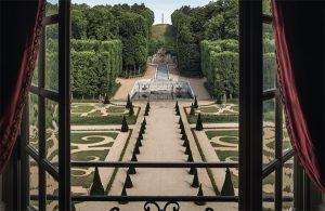 french gardens, Le Notre,Chateau de Villette as seen on www.CourtneyPrice.com