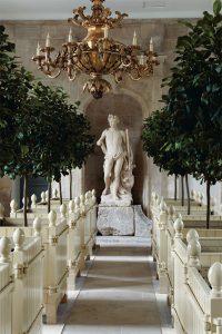 orangery, beautiful gardens, french gardens, Chateau de Villette as seen on www.CourtneyPrice.com