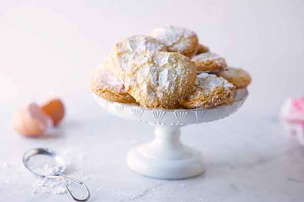 Almond cookies, recipe on www.CourtneyPrice.com