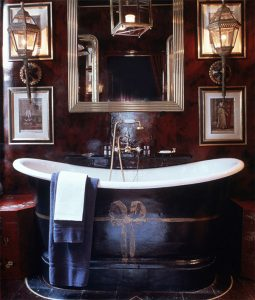 Blakes Hotel Cardinal Suite bathtub, as seen on www.Courtney Price.com
