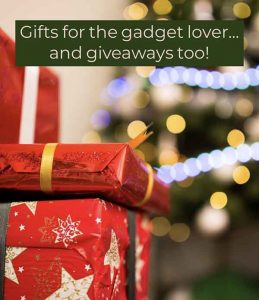 Gifts for gadget lovers, gadget giveaways too!